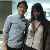 Novedades de la ganadora del concurso de The Walking Dead desde Los Ángeles. 522